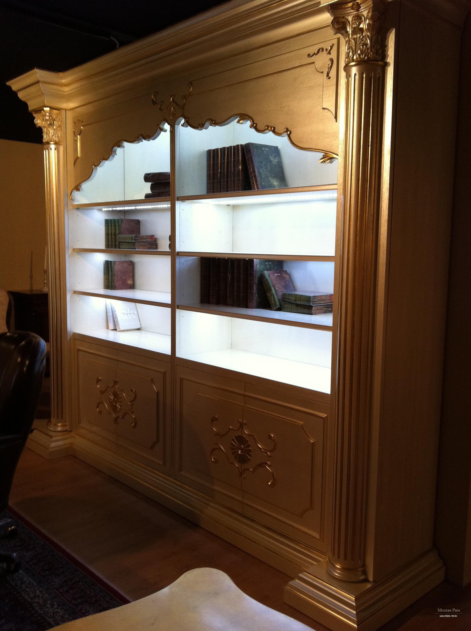 Шкаф книжный стенка, palmobili - мебель мр.