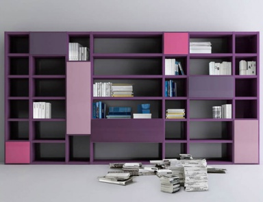 Книжный шкаф Kubo Bookcase Collection, ACF International