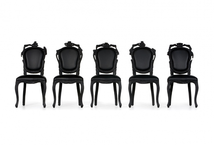 Стул Smoke Dining Chair, Moooi