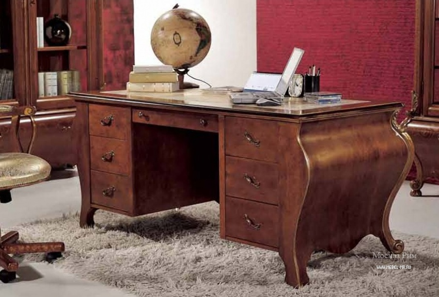 Zhanna.kz - письменный стол mirandola m616/1f фото.