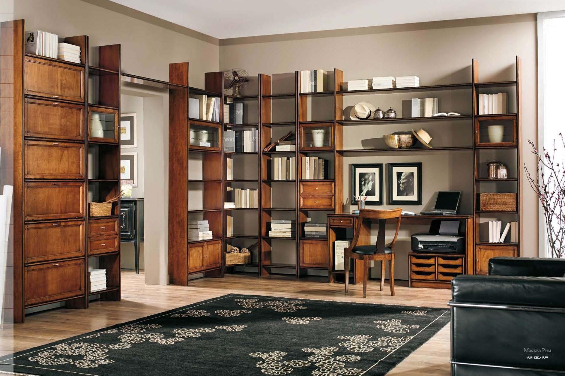 Книжный шкаф mirandola j037. классический. riva del garda. к.
