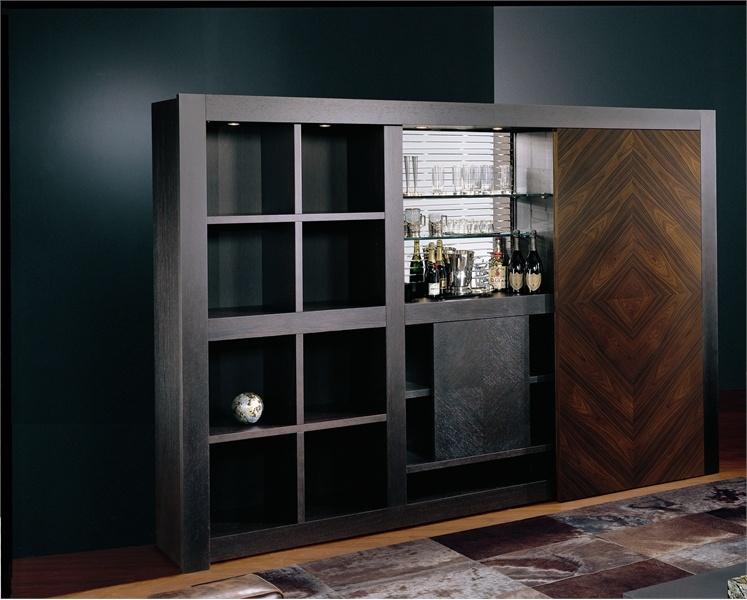 Шкаф с секцией-баром, barbook - smania - мебель мр.