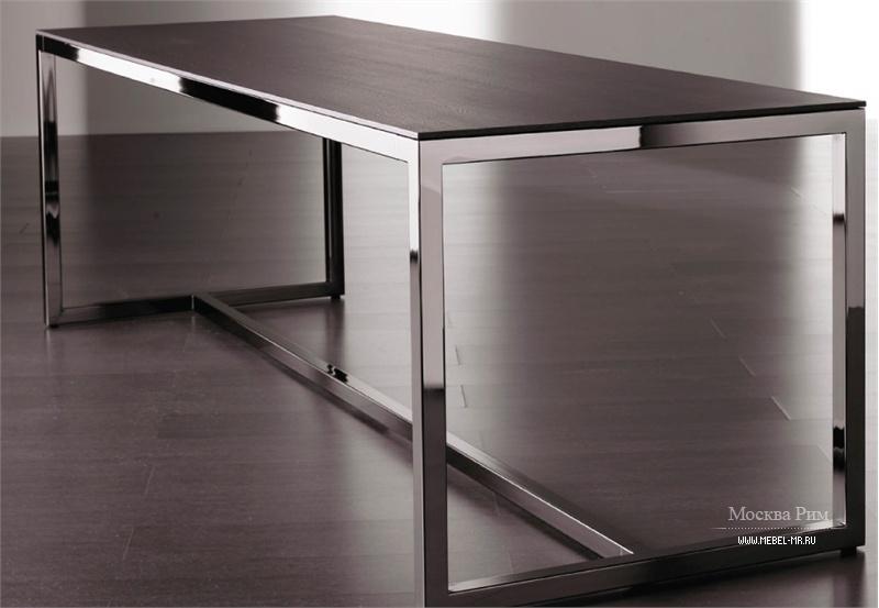 стол обеденный на металлическом каркасе Irons Meridiani