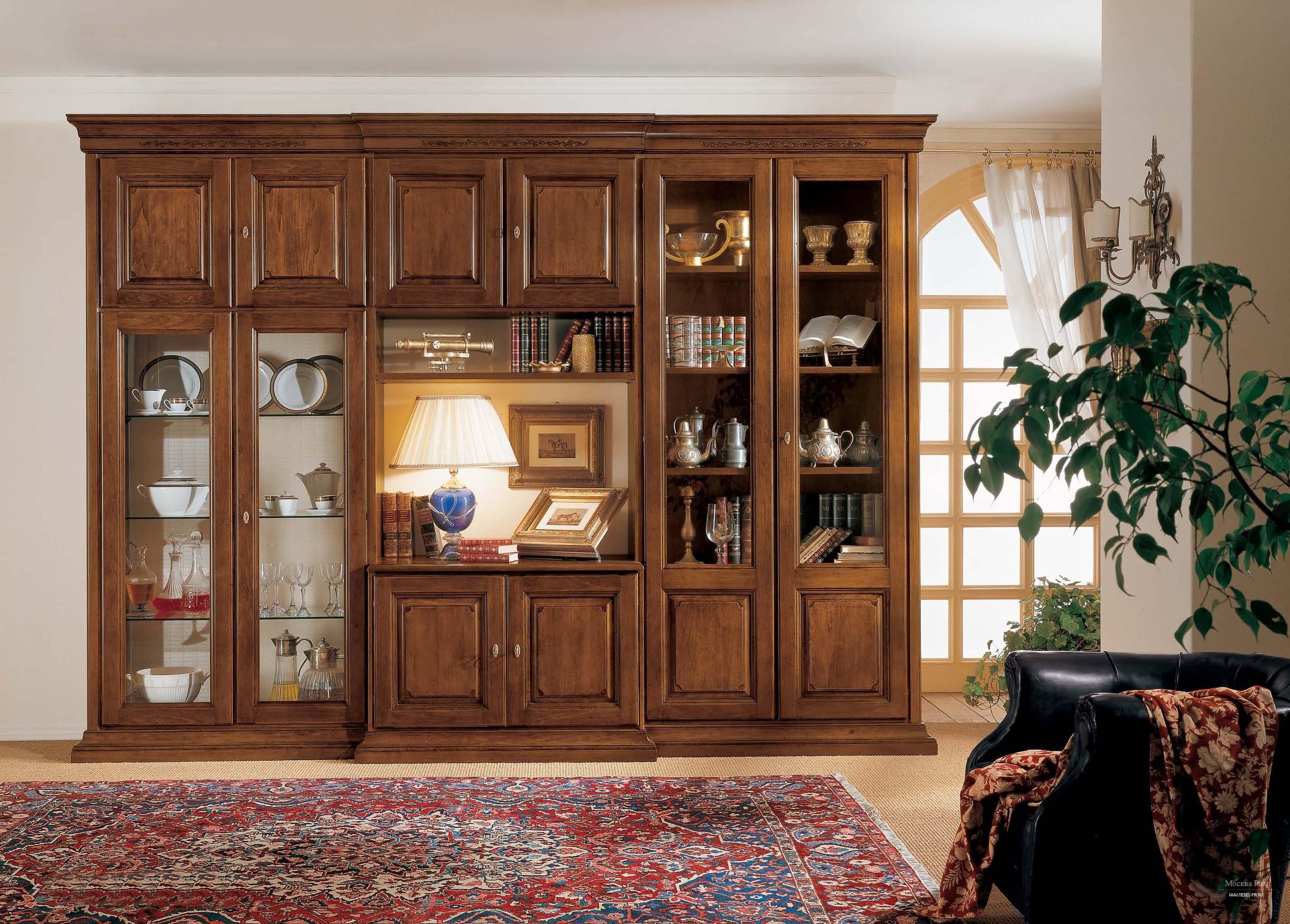 Стенка m306 (столовые mirandola) итальянская мебель на заказ.
