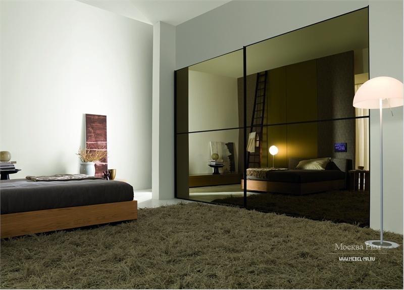 Мебель из кожи и стекла 179