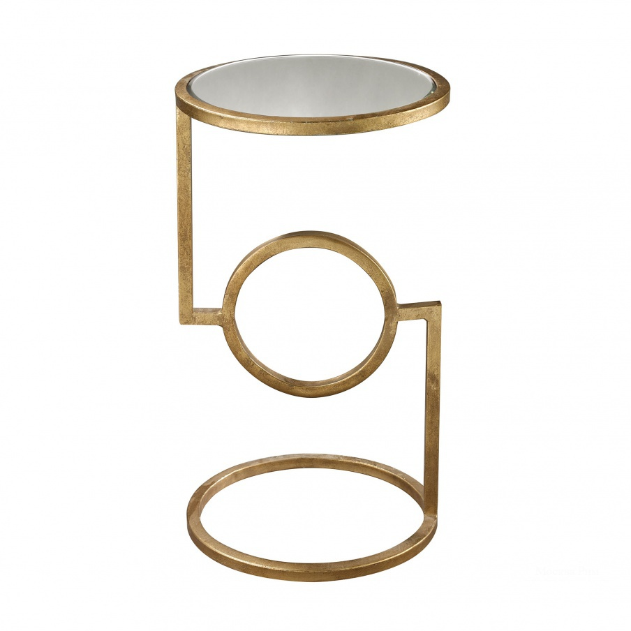 Стол Mirrored Top Hurricane Side Table Dimond Home