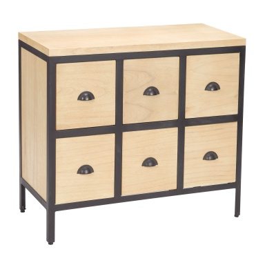 Комод Chest 6 Drawers With Iron Frames