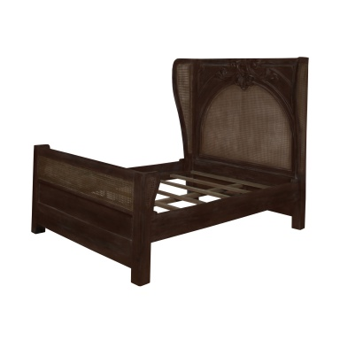 Кровать Caned Acanthus Queen Bed