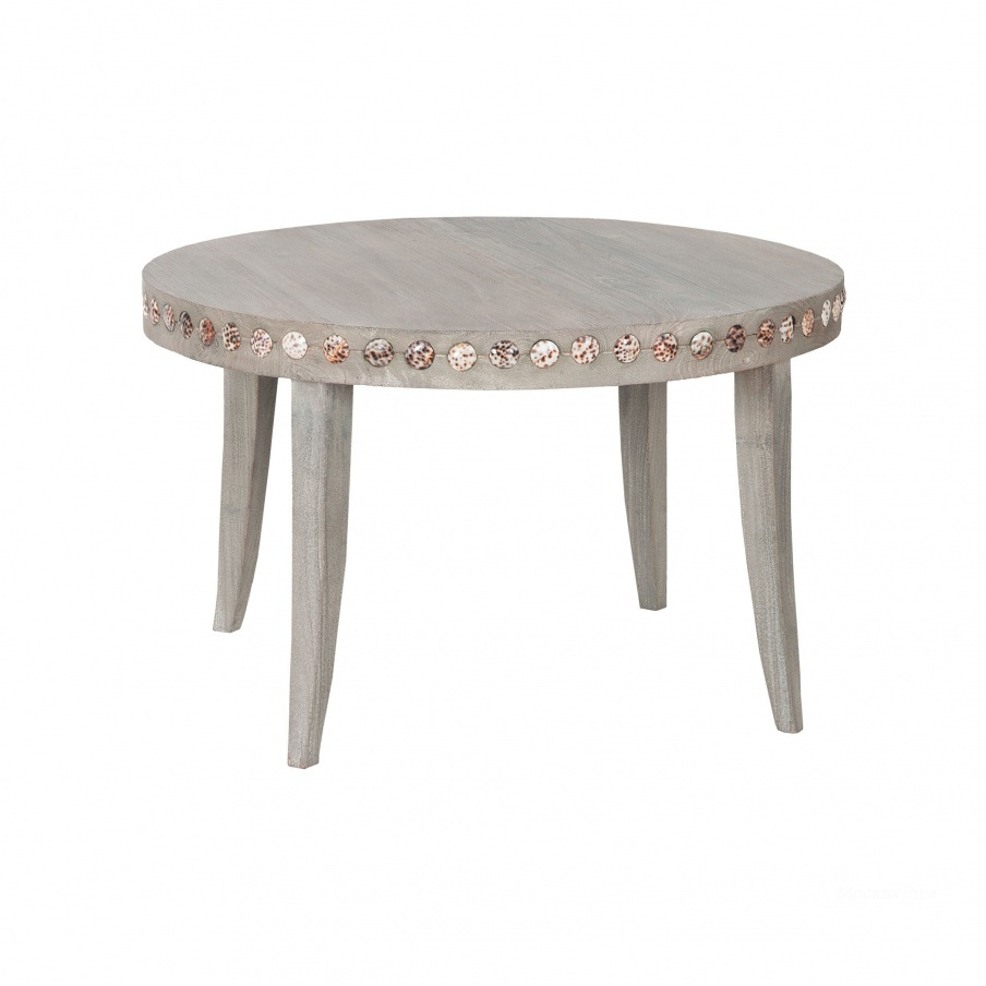 Стол Waterfront Shell Button Coffee Table Guild Master