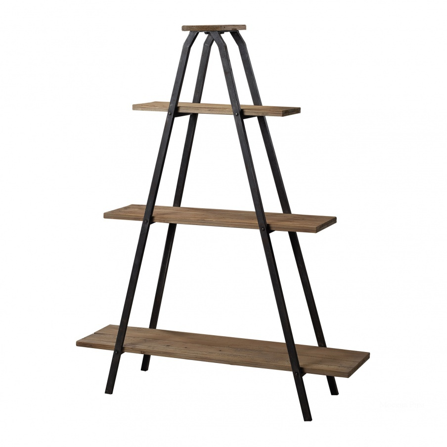 "Стеллаж Wooden ""A"" Line Shelves With Metal Frame Sterling"