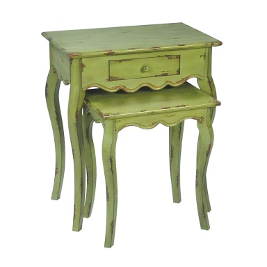 Стол Set of 2 Verde Stacking Tables