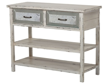 Буфет Sandall-Side Board With Drawers And Shelf In Antique Cream Sterling