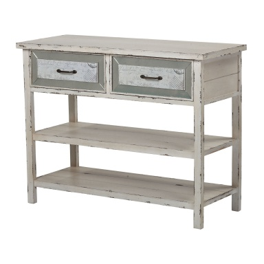 Буфет Sandall-Side Board With Drawers And Shelf In Antique Cream