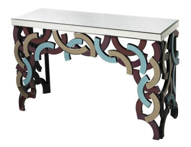 Консоль Colored Glass Console Dimond Home