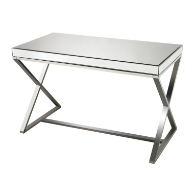 Стол письменный Klein-Mirror And Stainless Steel Desk