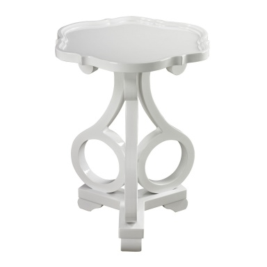 Стол Knockeen Gloss White Accent Table By