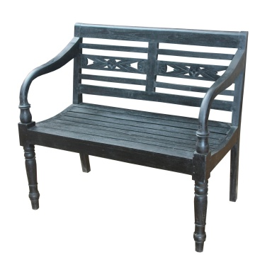 Скамья Folger Bench Restoration Black