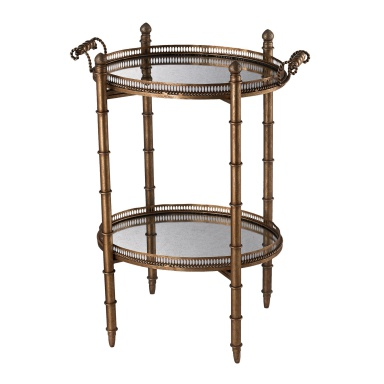 Стол Tyrella Gold Tray Table