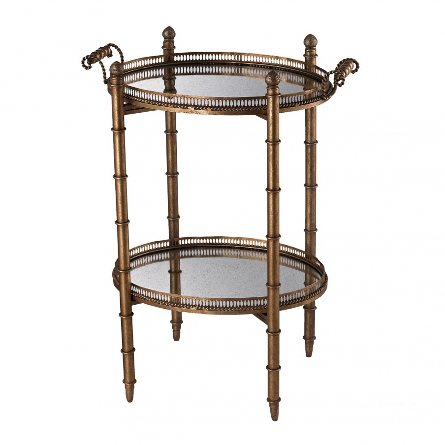 Стол Tyrella Gold Tray Table Dimond Home