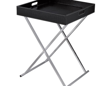Стол Sete Tray Table- Black Dimond Home