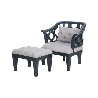 Кресло Soho Wing Chair And Ottoman