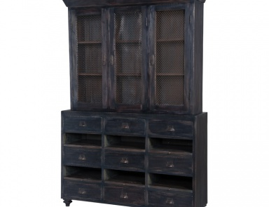 Шкаф European Farmhouse Display Cabinet Guild Master