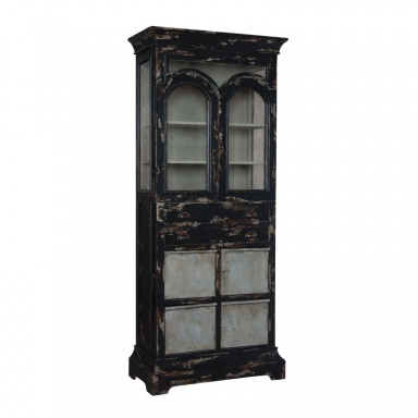 Шкаф Farmhouse Kitchen Display Cabinet