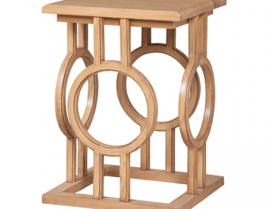 Стол Circle Cut Out Accent Table Guild Master