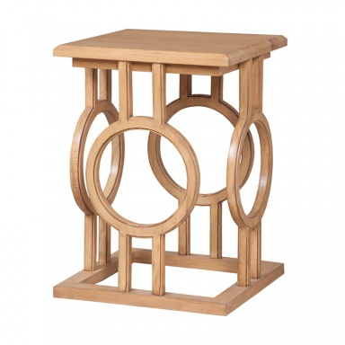 Стол Circle Cut Out Accent Table