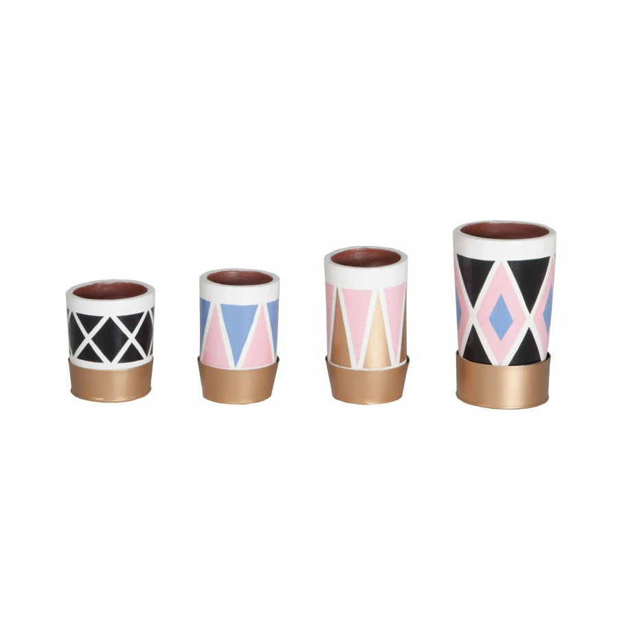 Ваза Kelly Pattern Pots Dimond Home