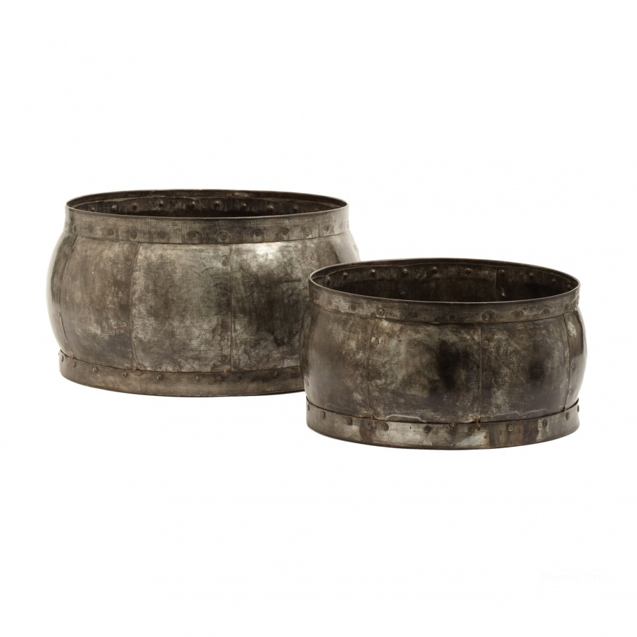 Аксессуар Fortress Barrel Dishes - Set Of 2 Dimond Home