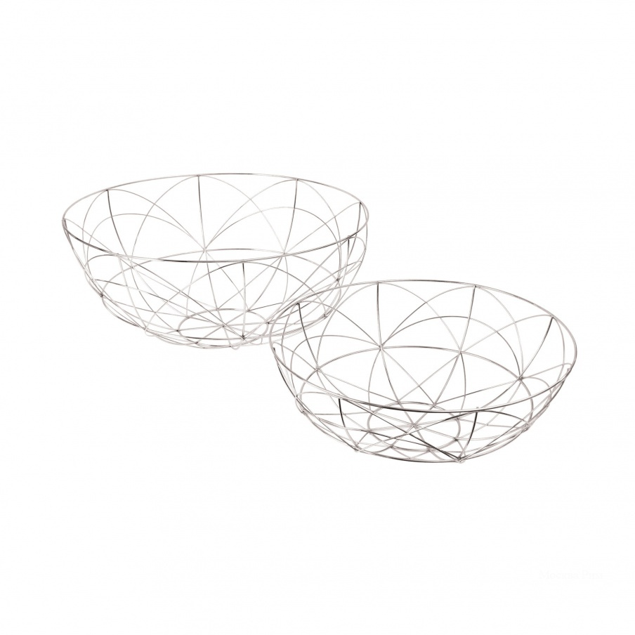 Аксессуар Silver Da Vinci Dishes- Set Of 2 Dimond Home