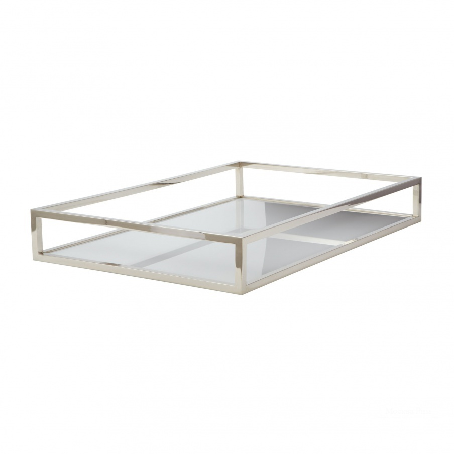 Поднос White Box Rod Tray - Rectangular Dimond Home
