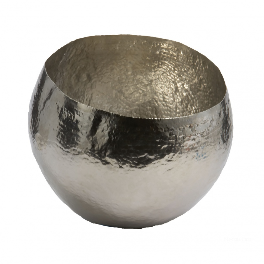 Поднос Hammered Nickel-Plated Brass Dish - Sm Dimond Home