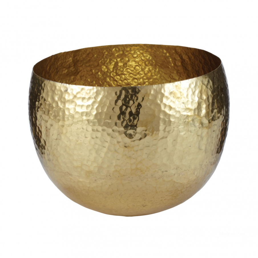 Аксессуар Gold Hammered Brass Dish - Sm Dimond Home
