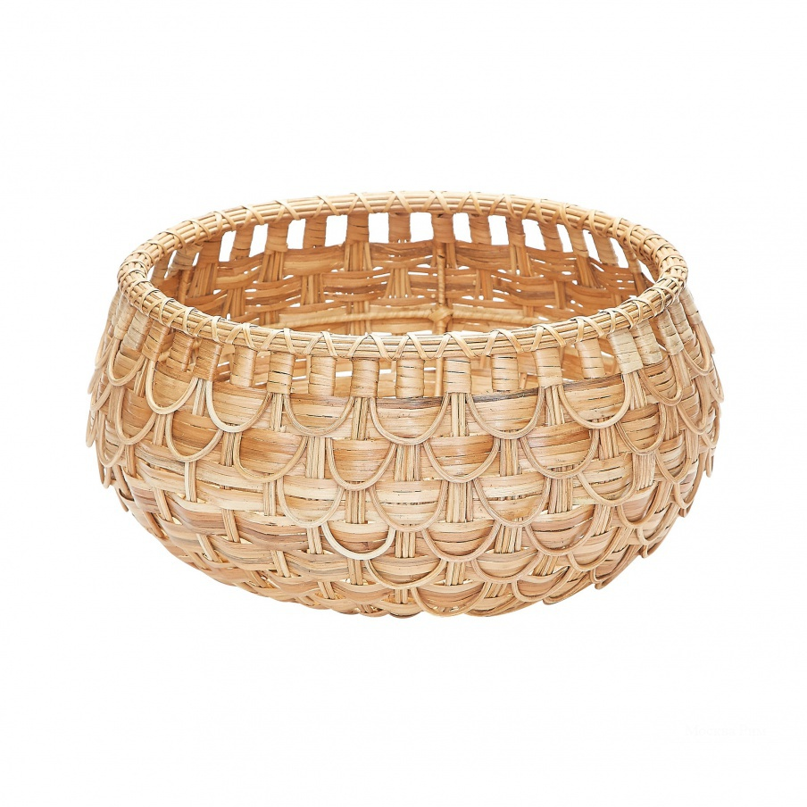 Корзина Small Natural Fish Scale Basket Dimond Home
