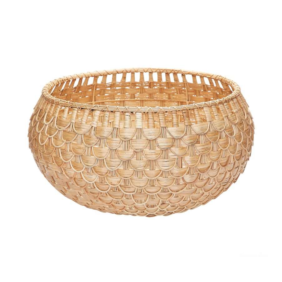 Корзина Large Natural Fish Scale Basket Dimond Home