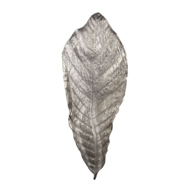 Поднос Colossal Silver Leaf