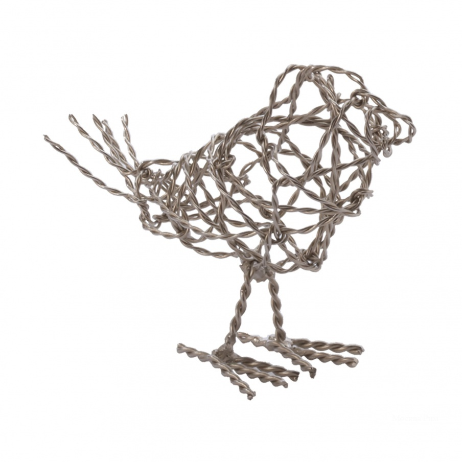 Аксессуар Nickel Scribble Bird - Sm Dimond Home