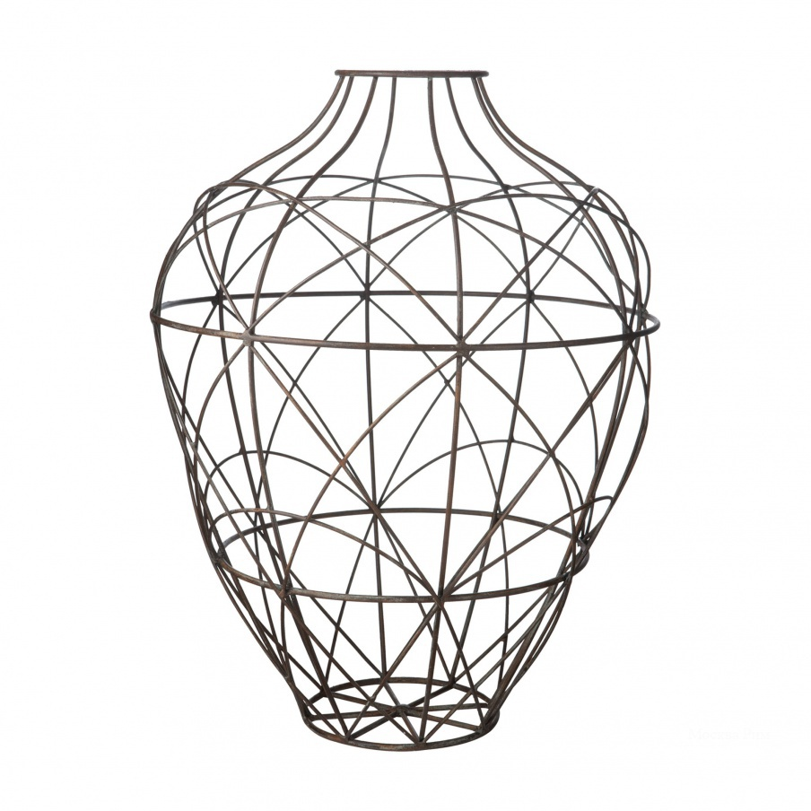 Ваза Russet Wire Vessel - Sm Dimond Home