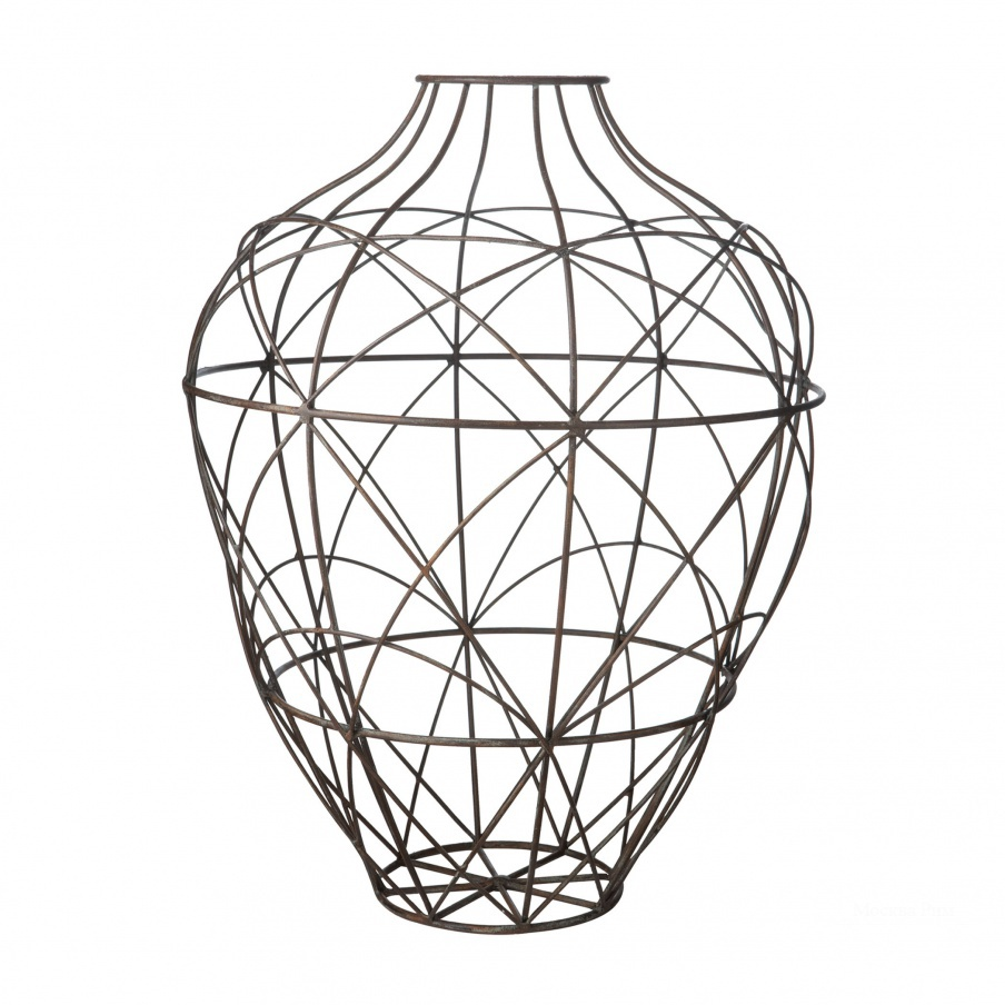 Ваза Russet Wire Vessel - Lg Dimond Home