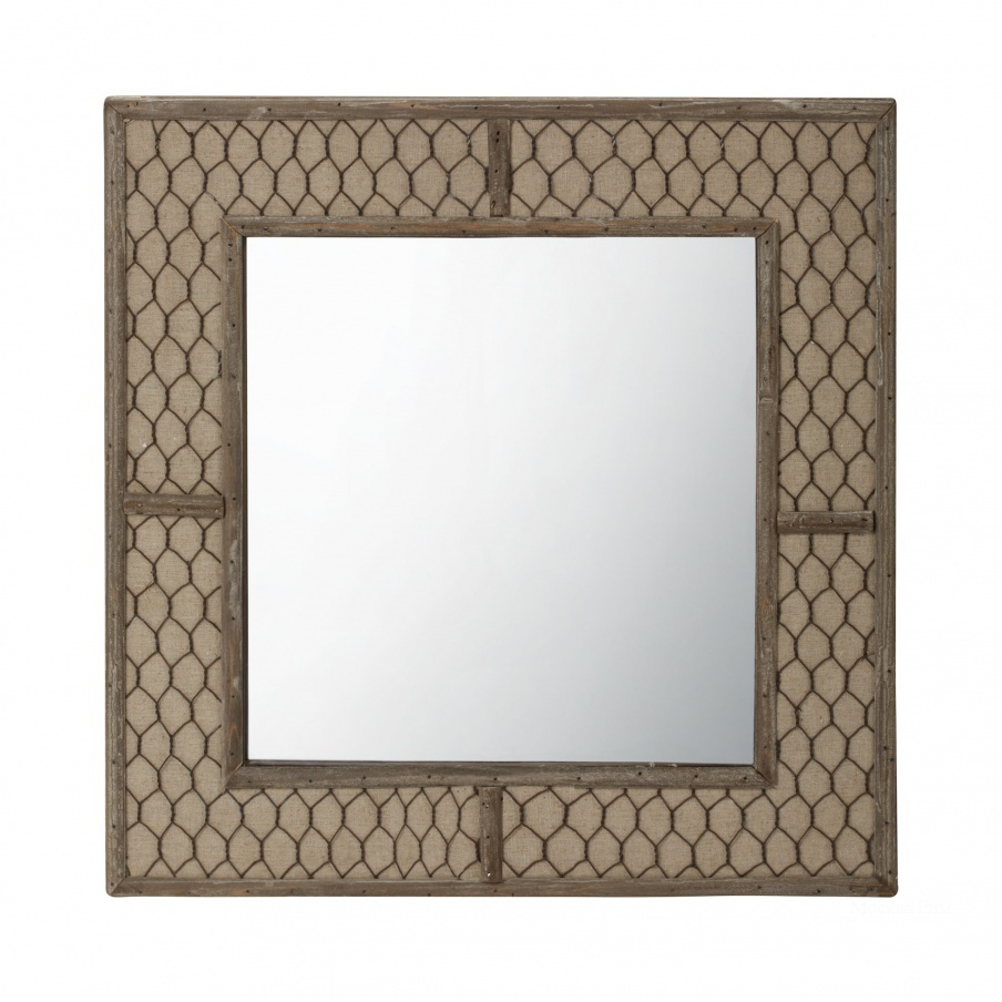 Настенное Canvas Wire Mirror Dimond Home