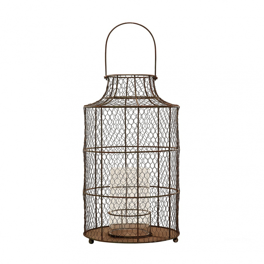 Подсвечник Chicken wire Hurricane - Small. Dimond Home