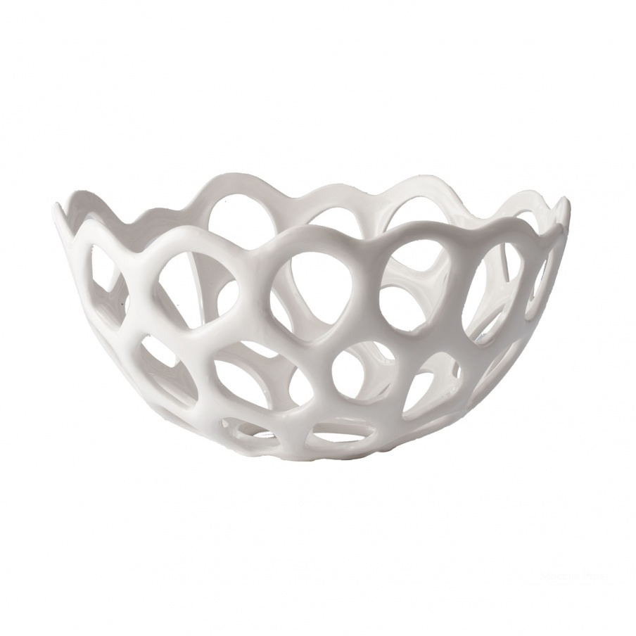Аксессуар Perforated Porcelain Dish - Md Dimond Home