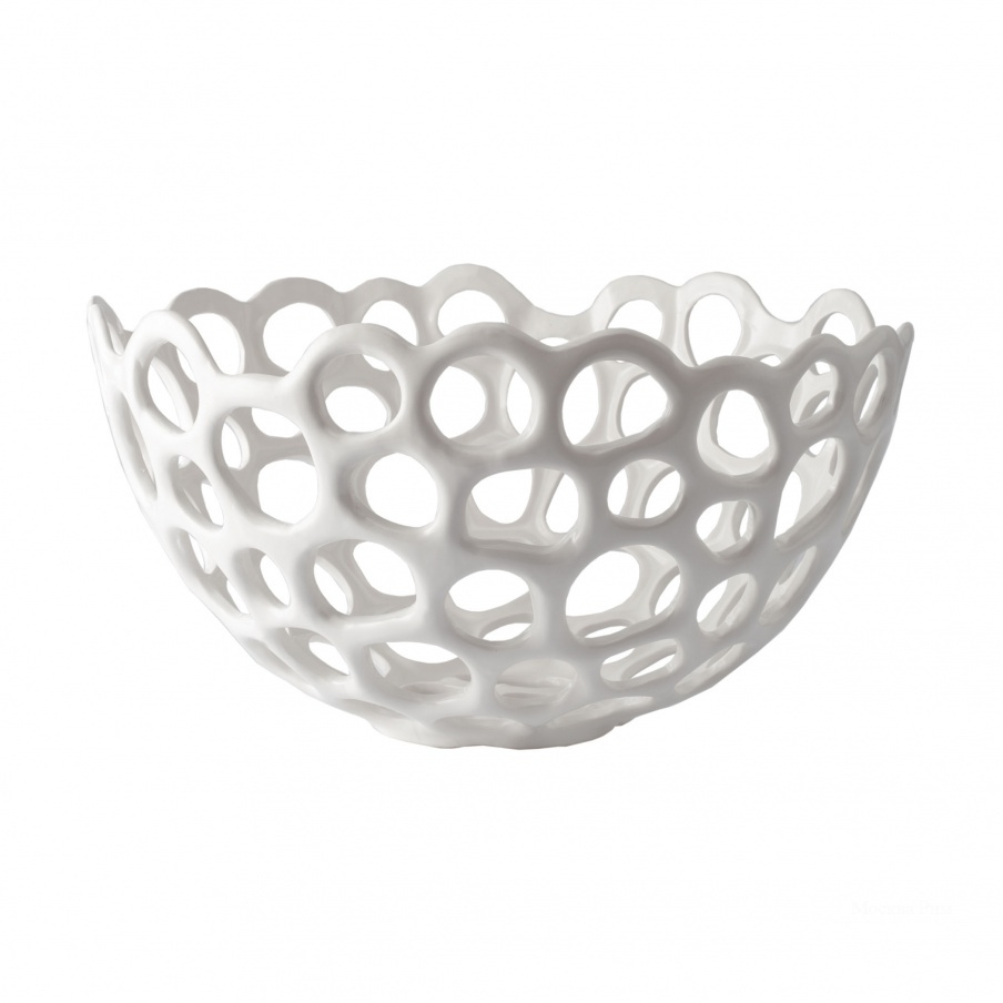 Аксессуар Perforated Porcelain Dish - Lg Dimond Home