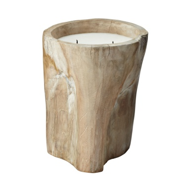 Аксессуар White Pepper Log Candle - Lg