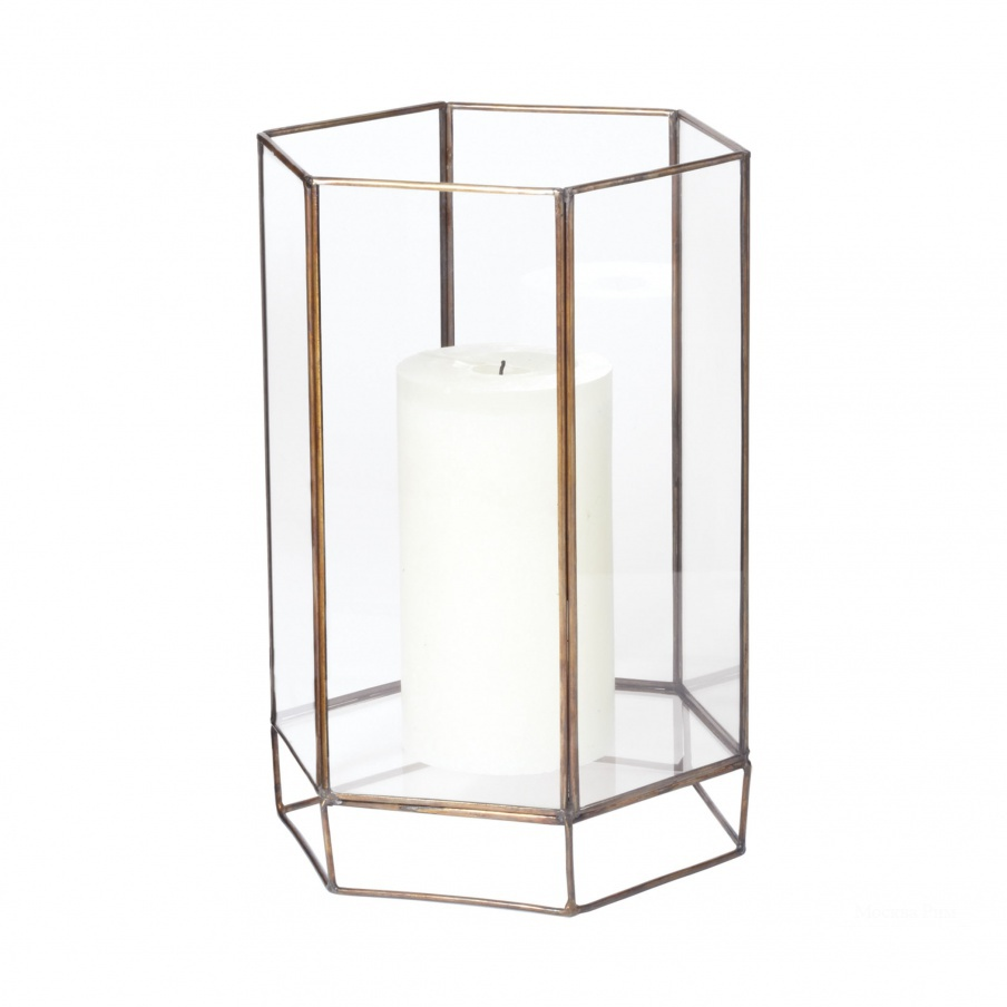 Подсвечник Glass Oriel Hurricane - Sm Dimond Home