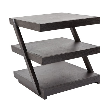 Стол Stacked Black Teak Side Table