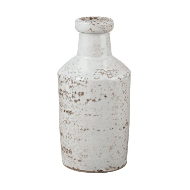 Ваза Rustic White Milk Bottle