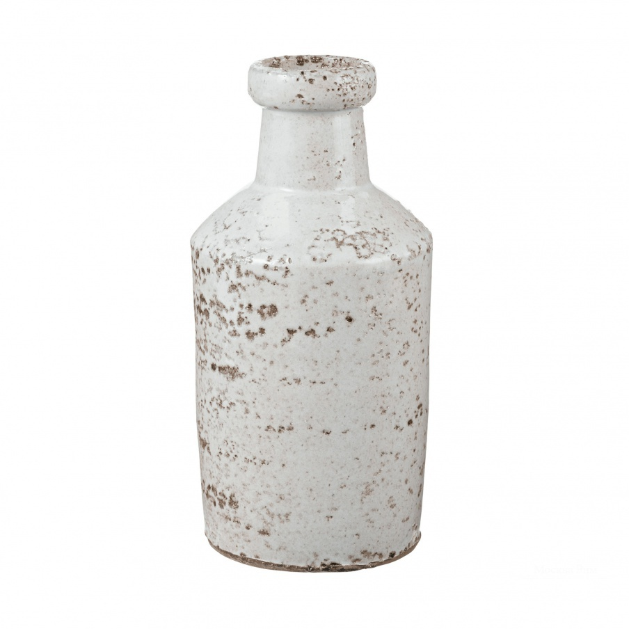 Ваза Rustic White Milk Bottle Dimond Home